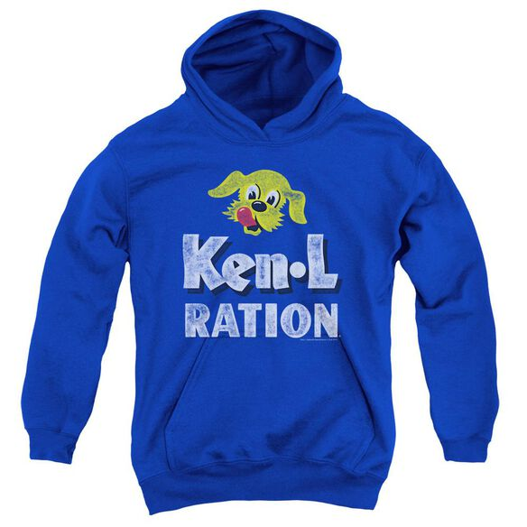 Ken L Ration Distressed Logo Youth Pull Over Hoodie