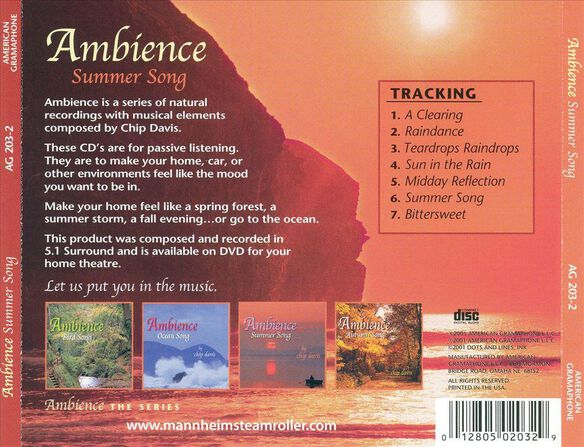 Ambience Summer Song 0502