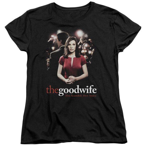 The Good Wife Bad Press Short Sleeve Womens Tee T-Shirt
