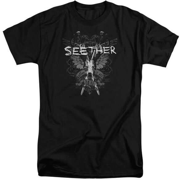 Seether Suffer Short Sleeve Adult Tall T-Shirt