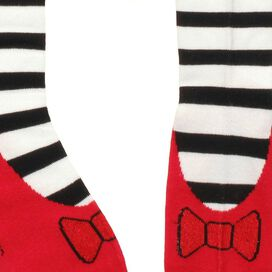 Wizard of Oz Witch Ruby Slipper Socks