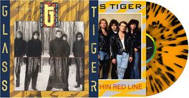 Glass Tiger - Thin Red Line ['Tiger Striped' Colored Vinyl]