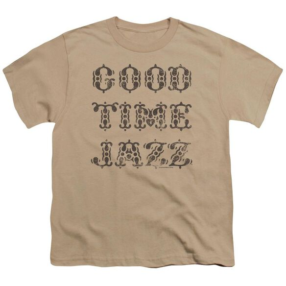 Good Time Jazz Retro Good Times Short Sleeve Youth T-Shirt