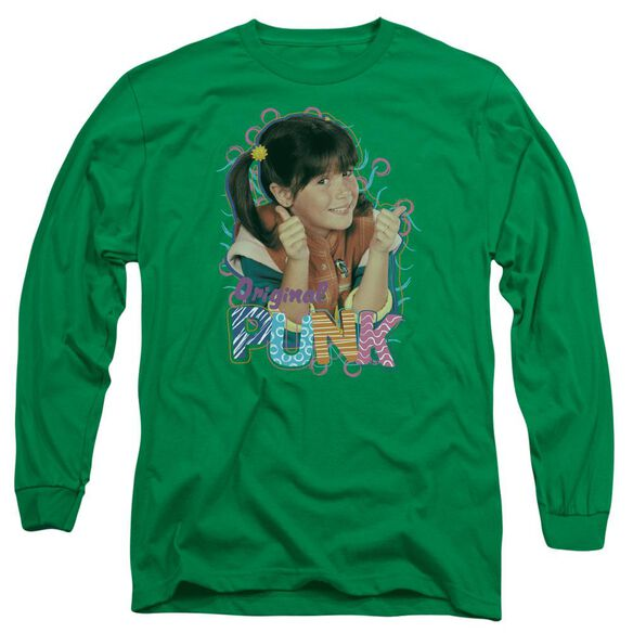 Punky Brewster Original Punk Long Sleeve Adult Kelly T-Shirt