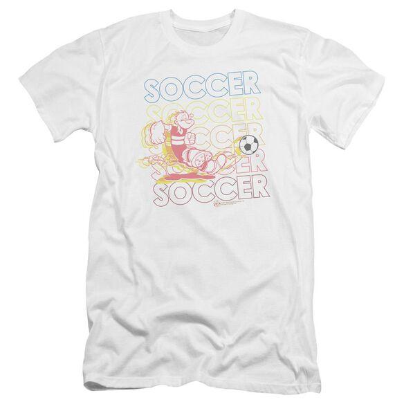 Popeye Soccer Premuim Canvas Adult Slim Fit