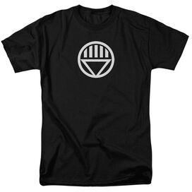 GREEN LANTERN BLACK LANTERN LOGO - S/S ADULT 18/1 - BLACK T-Shirt