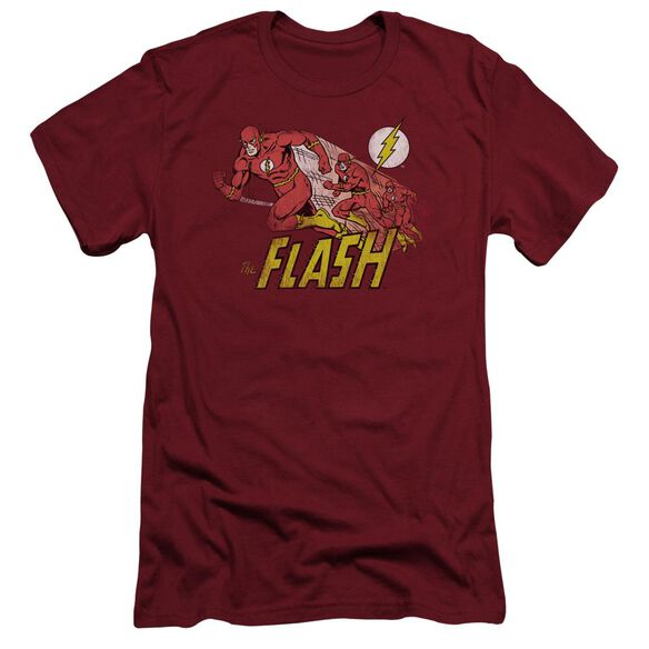 Dc Flash Crimson Comet Short Sleeve Adult T-Shirt