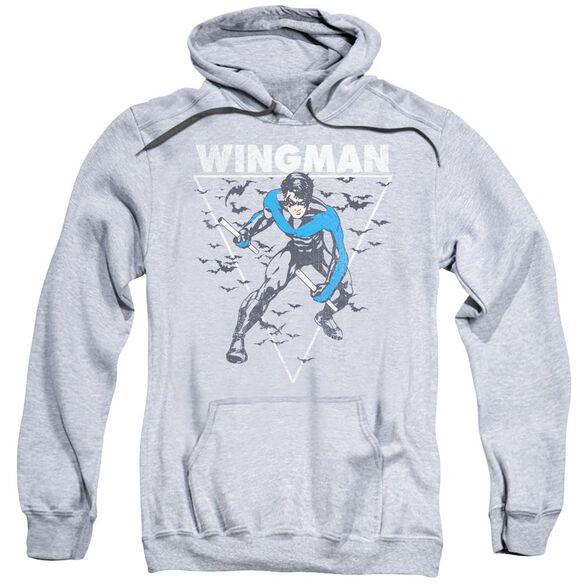 Batman Nightwingman Adult Pull Over Hoodie Athletic