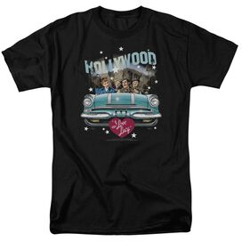 I LOVE LUCY HOLLYWOOD ROAD TRIP - S/S ADULT 18/1 - BLACK T-Shirt