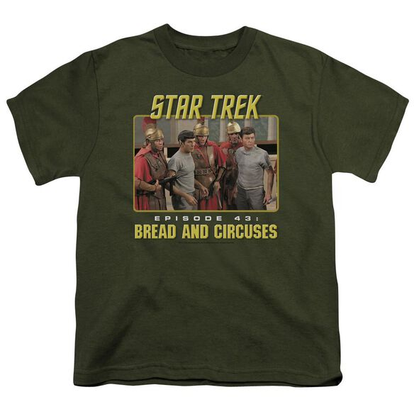 St Original Episode 43 Short Sleeve Youth Military T-Shirt