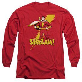 Dc Shazam! Long Sleeve Adult T-Shirt