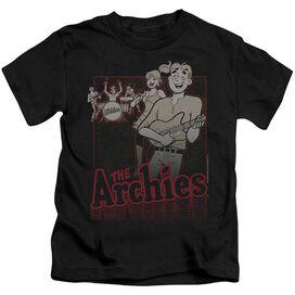 Archie Comics Perform Short Sleeve Juvenile Black T-Shirt