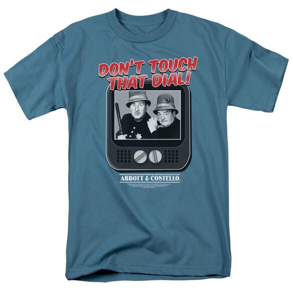 ABBOTT & COSTELLO THAT DIAL - S/S ADULT 18/1 - SLATE T-Shirt