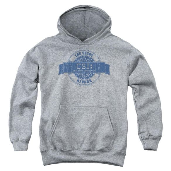 Csi Vegas Badge Youth Pull Over Hoodie