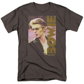 David Bowie Smokin Short Sleeve Adult T-Shirt