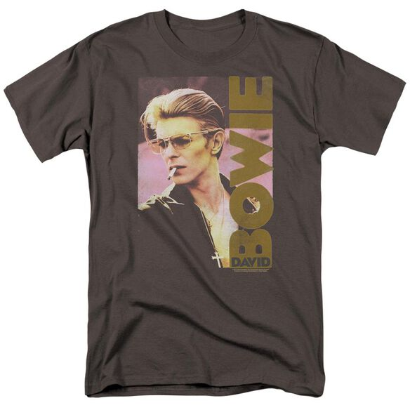 David Bowie Smokin Short Sleeve Adult T-Shirt