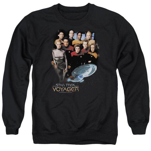 Star Trek Voyager Crew Adult Crewneck Sweatshirt
