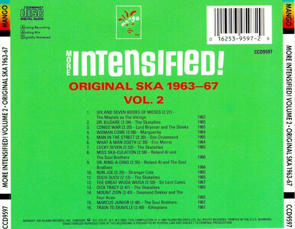 Intensified V2 1193