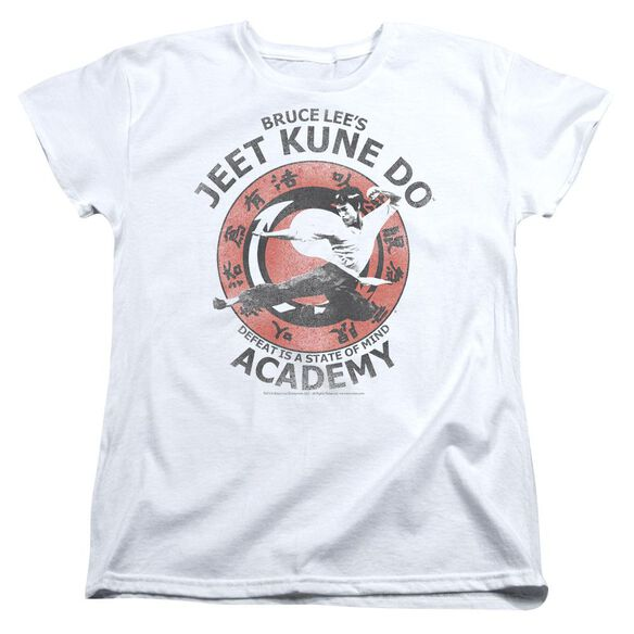Bruce Lee Jeet Kune Short Sleeve Womens Tee T-Shirt