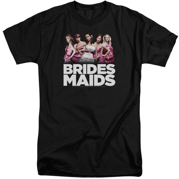 Bridesmaids Maids Short Sleeve Adult Tall T-Shirt