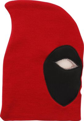 Deadpool Mesh Eyes Full Face Ski Mask Beanie