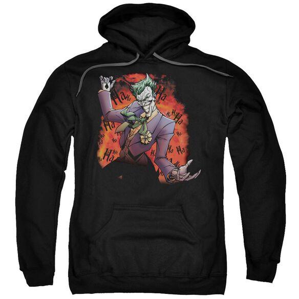 Batman Jokers Ave Adult Pull Over Hoodie