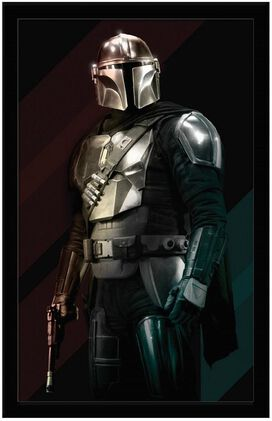 Star Wars - The Mandalorian Portrait Wall Art 11x17