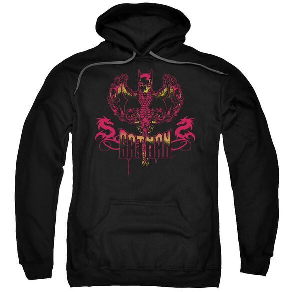 Batman Heart Of Fire Adult Pull Over Hoodie