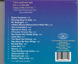 Jerry Jeff Walker - Gypsy Songman: A Life in Song