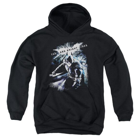 Dark Knight Rises More Than A Man Youth Pull Over Hoodie