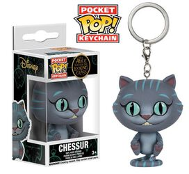 Funko Pocket Pop! Keychain: Alice Through The Looking Glass - Chessur