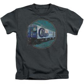 Chicago The Rail Short Sleeve Juvenile Charcoal T-Shirt