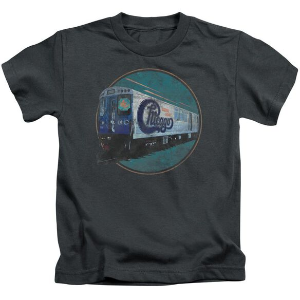Chicago The Rail Short Sleeve Juvenile Charcoal T-Shirt