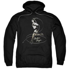 Bettie Page Whip It! Adult Pull Over Hoodie