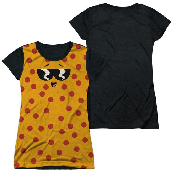 UNCLE GRANDPA PIZZA FACE-S/S JUNIOR POLY T-Shirt