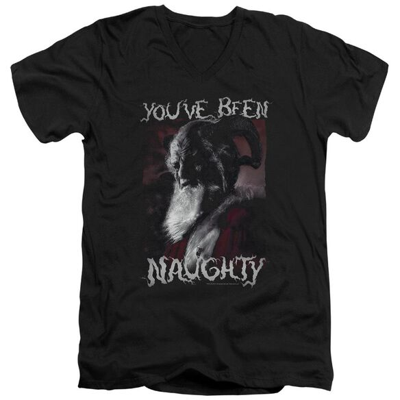 Grimm Merry Krampus Short Sleeve Adult V Neck T-Shirt