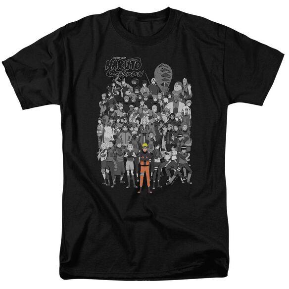 Naruto Characters Short Sleeve Adult T-Shirt