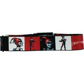 Harley Quinn Seatbelt Mesh Belt