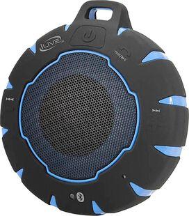 iLive ISBW157 Sand, Shock & Waterproof Bluetooth Wireless Speaker [Black/Blue]