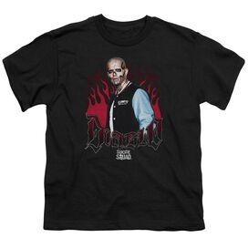 Suicide Squad Diablo Flames Short Sleeve Youth T-Shirt