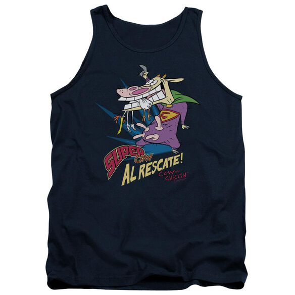 Cow & Chicken Super Cow Adult Tank