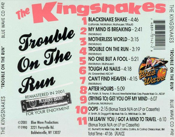 Trouble On The Run 0401