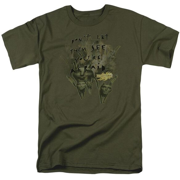 Mirrormask Dont Let Them Short Sleeve Adult Military T-Shirt