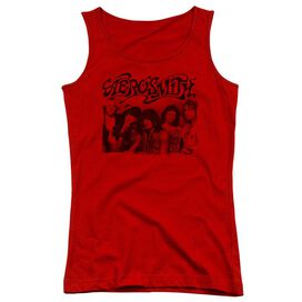 Aerosmith Old Photo Juniors Tank Top