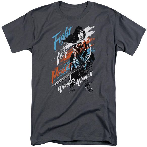 Wonder Woman Movie Fight For Peace Short Sleeve Adult Tall T-Shirt