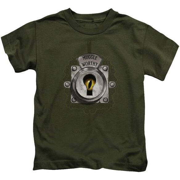Fantastic Beasts Muggle Worthy Short Sleeve Juvenile Military T-Shirt