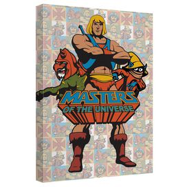 Masters Of The Universe Heroes Quickpro Artwrap Back Board