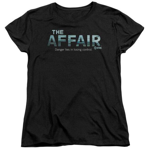 Affair Ocean Logo Short Sleeve Womens Tee T-Shirt