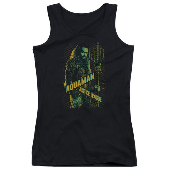 Justice League Movie Aquaman Juniors Tank Top