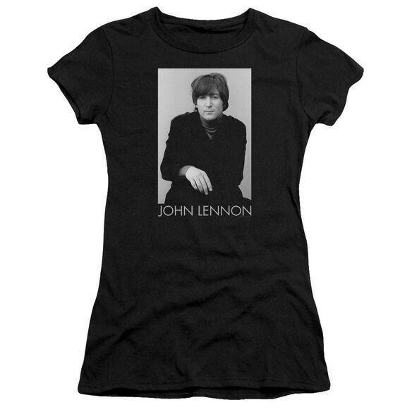 John Lennon Ex Beatle Short Sleeve Junior Sheer T-Shirt